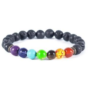 Jewelry - 2 for $20 Chakra rainbow diffuser bracelet